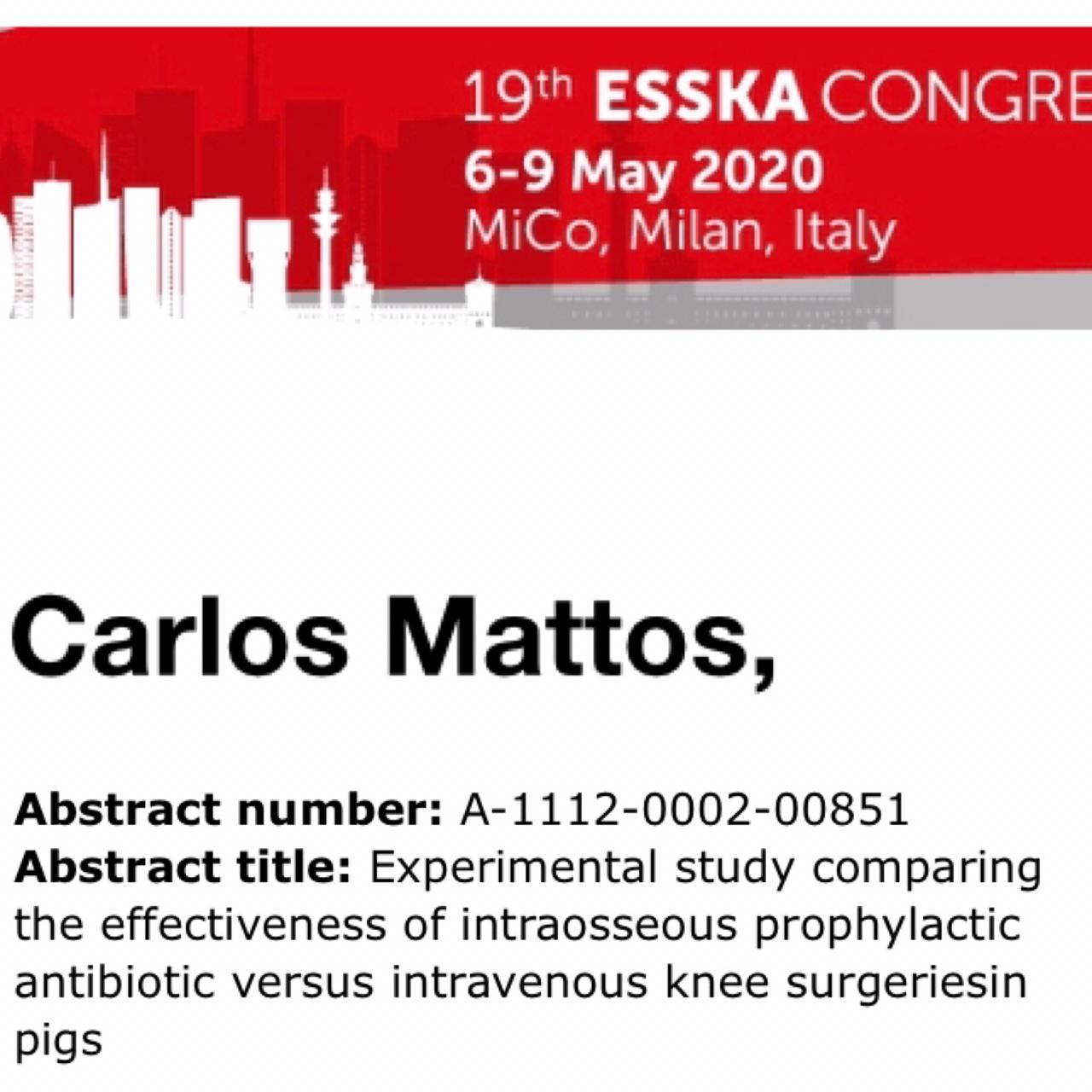 Dr. Carlos Mattos - trabalho